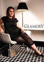 Glamory VELVET 80 FOOTLESS Tight Plus Size (Exclusive and New)G-50168