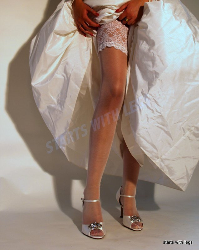 Cervin RIVE GAUCHE SILK Stay Ups/Hold Ups only size 1 available