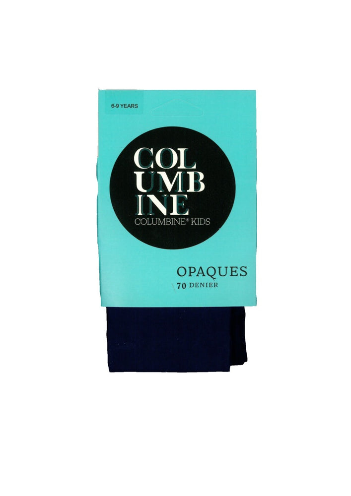 Columbine OPAQUE 70 Children's Tights blue only