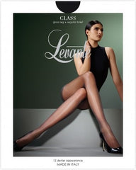 Class Regular Gloss Shine 12 Denier Pantyhose/Tights - Levante Hosiery