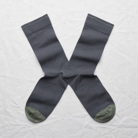 Bonne Maison STEEL Cotton Unisex Socks UN173