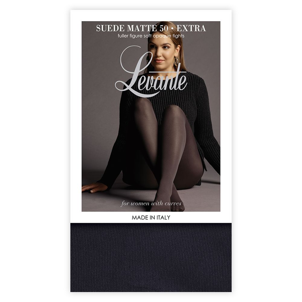 Levante SUEDE MATTE 50 Extra (Plus Size) Fuller Figure Tights