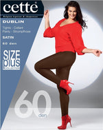 Cette DUBLIN Plus Size Pantyhose/Tights (Premium Belgium Hosiery) HUGE COLOUR RANGE