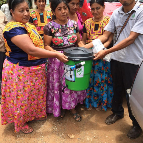 Clean water for Honduran farmers