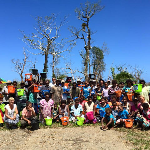 DRINKmaple provides immediate impact in Vanuatu