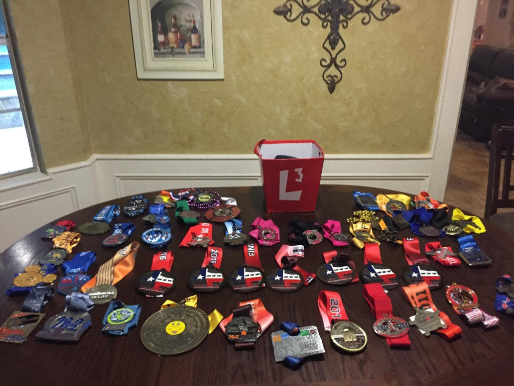 Table of Medals