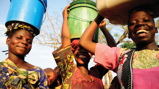 Access to clean water is a daily struggle for over 25 million people in Tanzania. Image by Maasai Children Education.