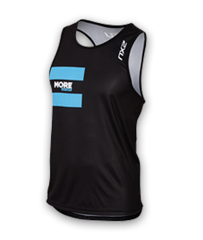 Mens 2XU Long Distance Run Singlet