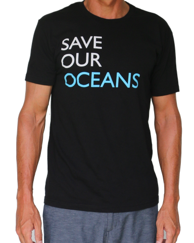 """Save our Oceans"" Men's T-Shirt"