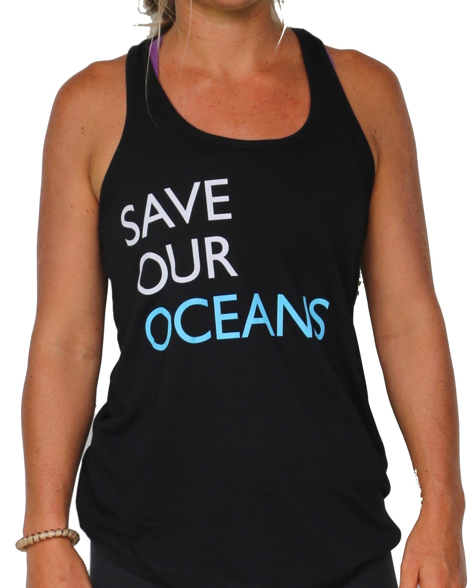 """Save Our Oceans"" Women's Tank"