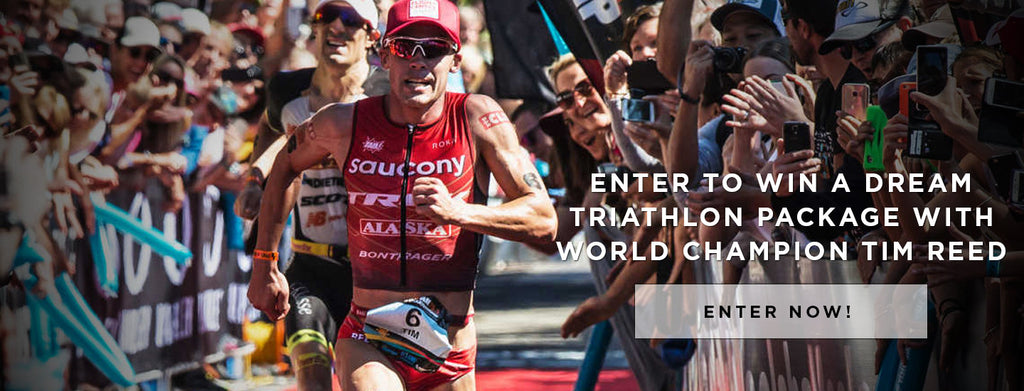 Ultimate Triathlon Prize Pack featuring Tim Reed