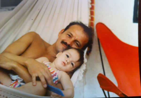Isabel with her Father