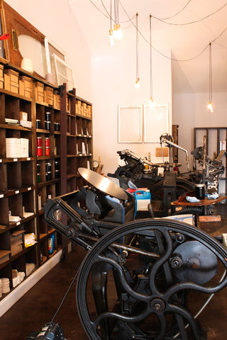 Winter Park, Florida, stationery, studio, paper goods, letterpress