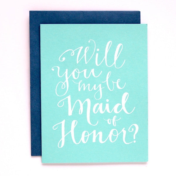 Maid of Honor?