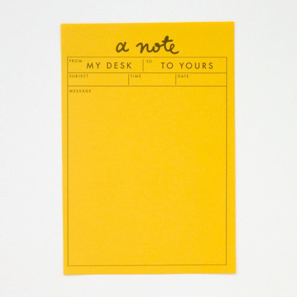 Sunshine Notepad