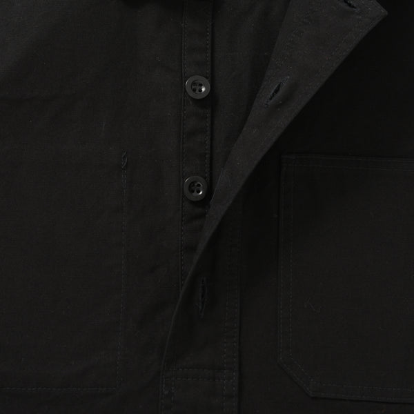 OVERHEAD SHIRT BLACK