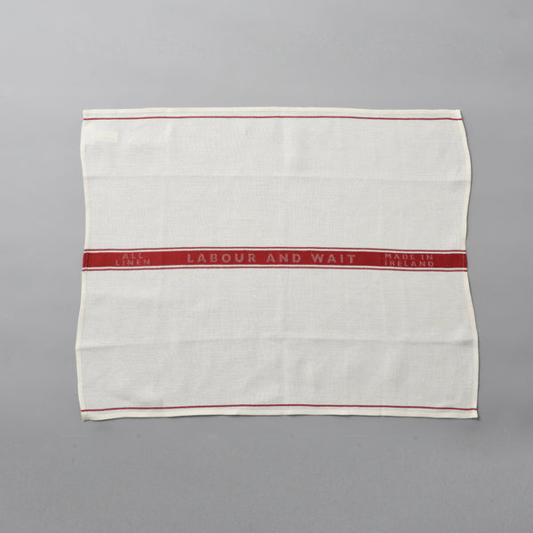LINEN TEA TOWEL RED