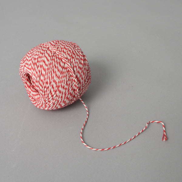 STRIPED SALAMI STRING RED
