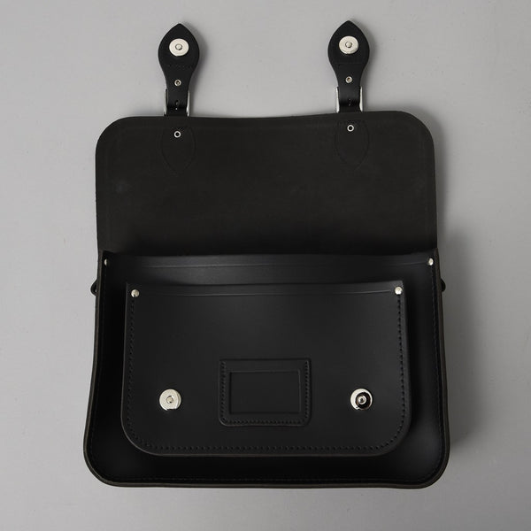 SMALL SATCHEL BLACK