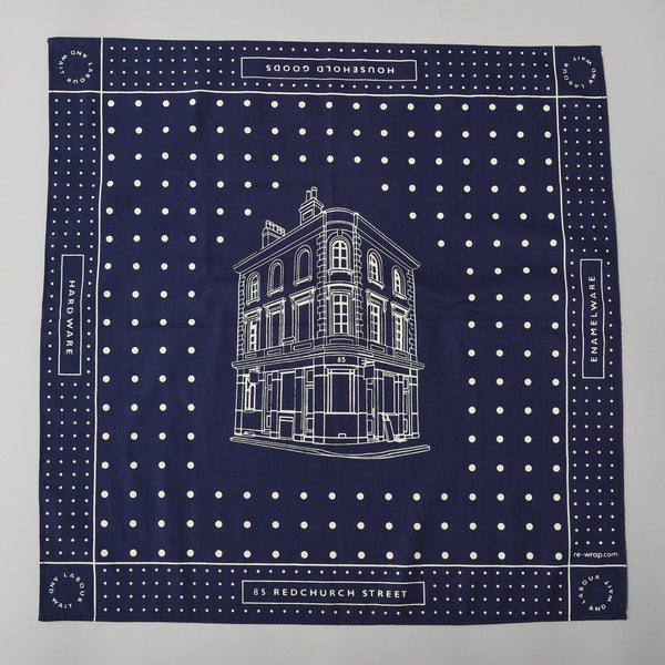BLUEPRINT HANDKERCHIEF