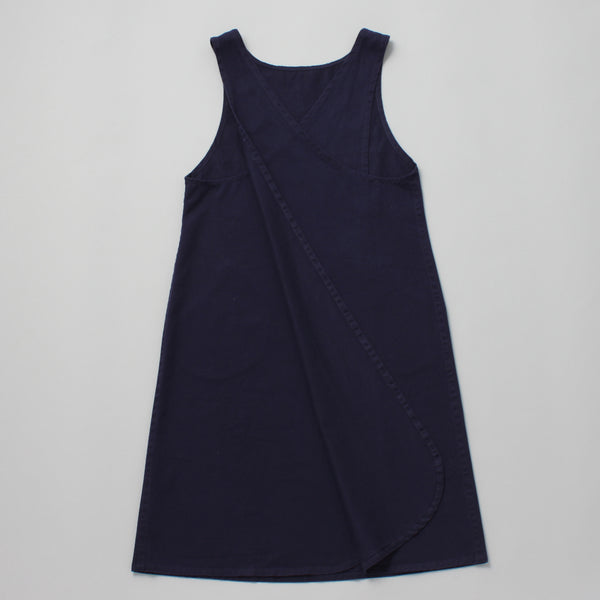 COTTON PINAFORE NAVY
