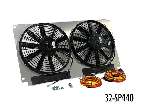 66-67 Chevelle Dual Fan Kit