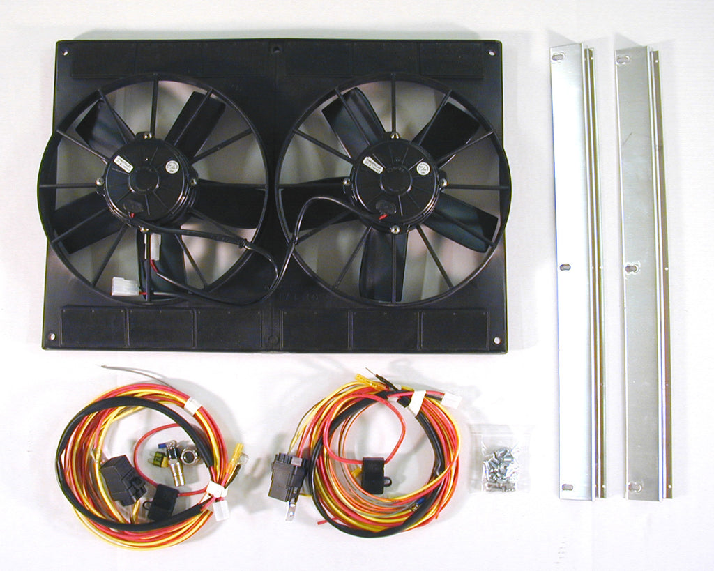 Products Tagged Spal Dewitts Direct Fit Aluminum Radiators Electric Fan Conversion For Suburban Sp460 Dual Kit