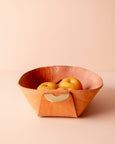 leather catch all bowl [natural]