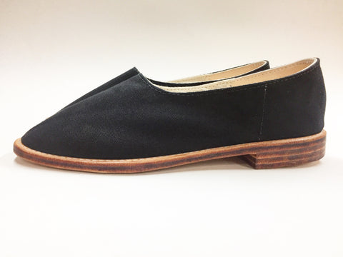 Canvas Shoe- Men's Black