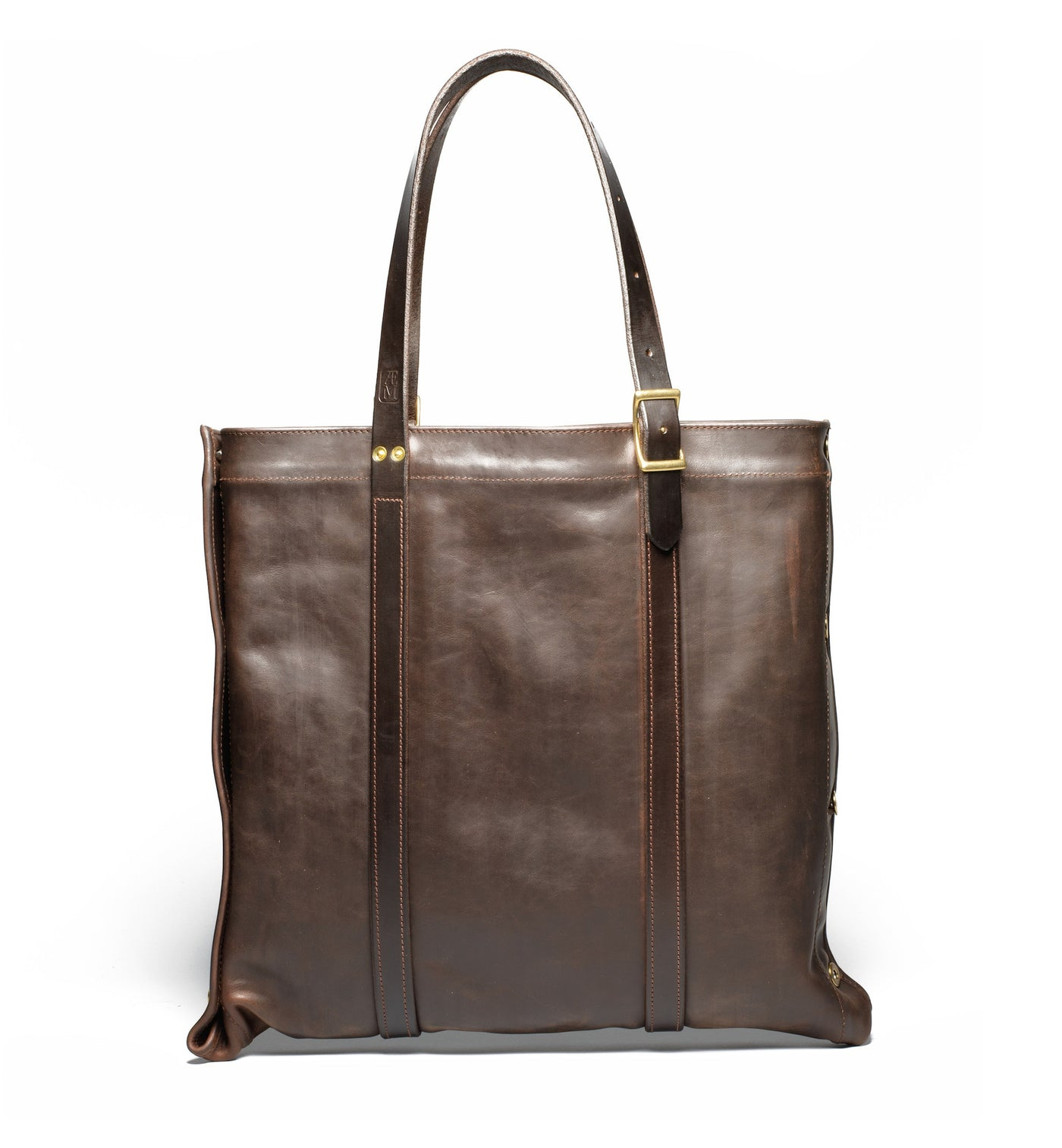 Convertible Tote Brown/Brass