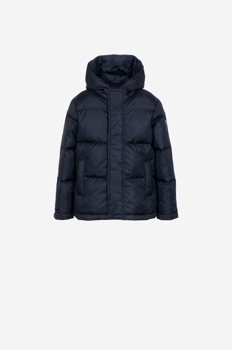 Boys Down Parka in dark blue