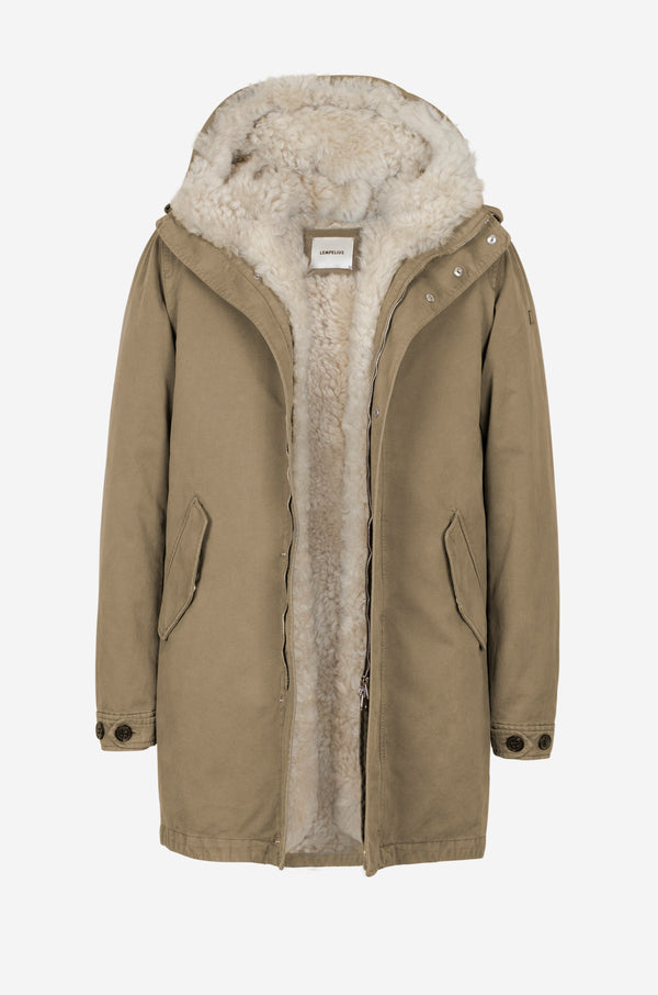 Army Parka in camel