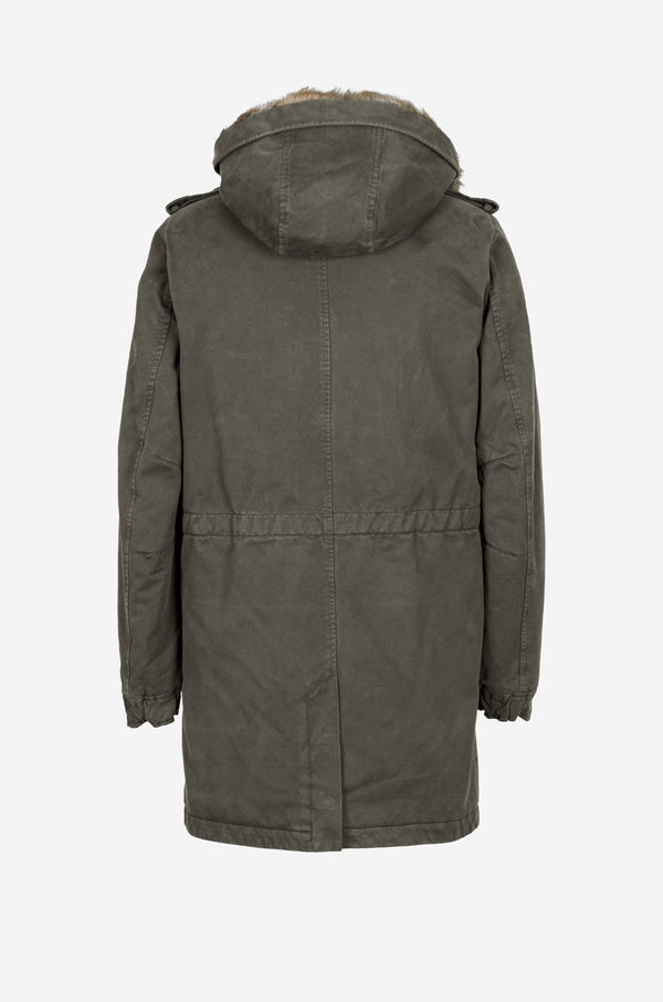 Army Parka in military green