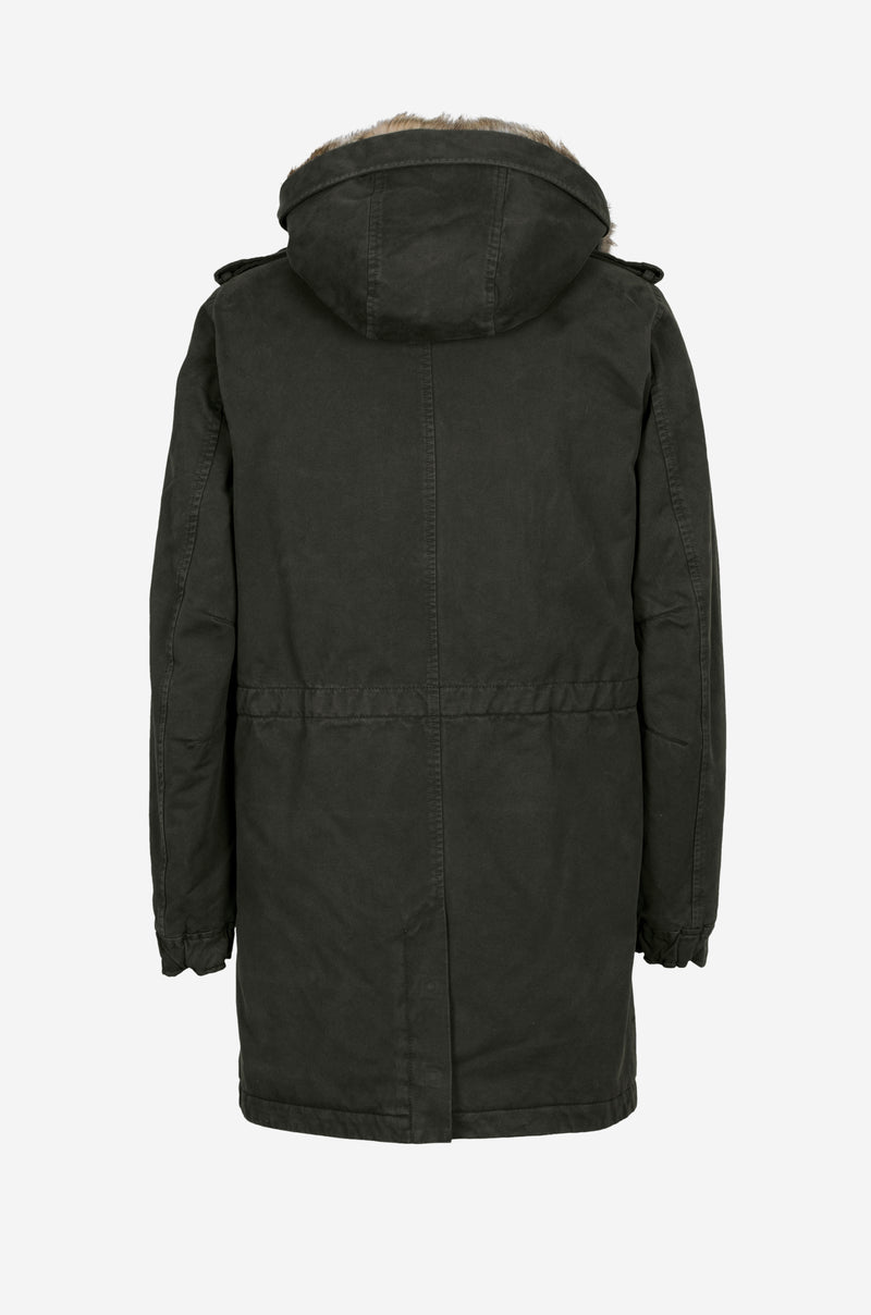 Army Parka in dark green