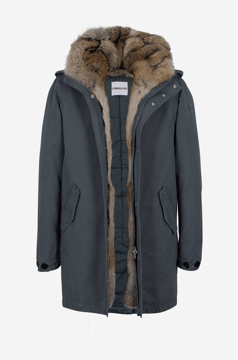 Army Parka in baltic blue