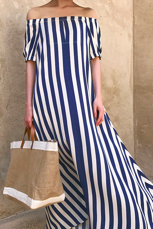 Shapira Striped Dress