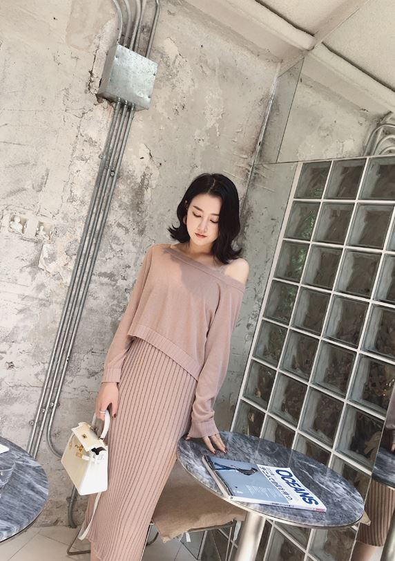 Ambyrena Knit Dress