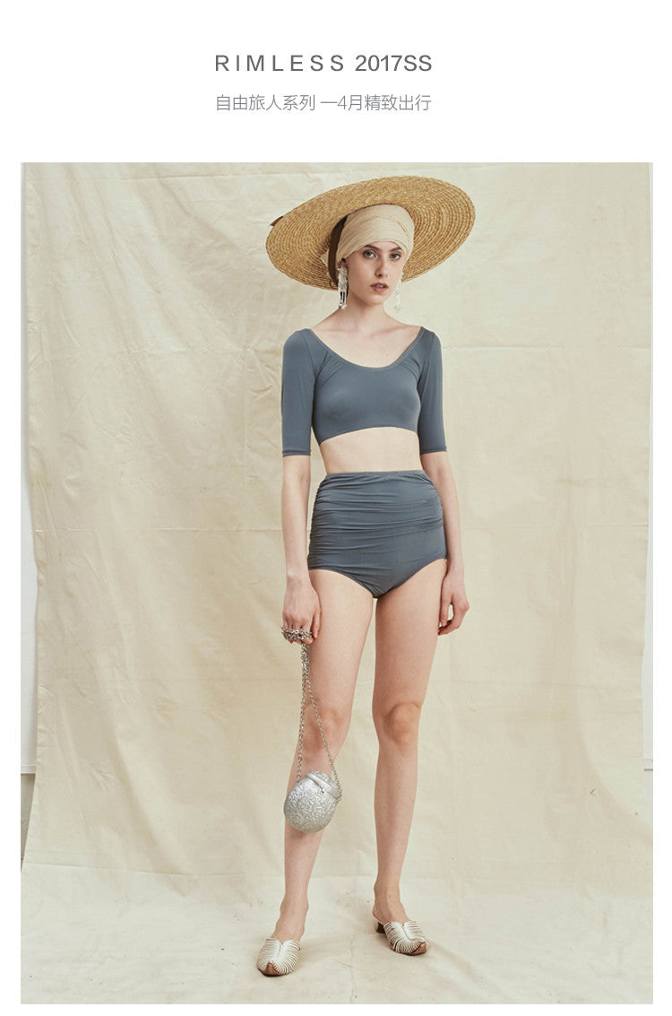 Camille Resort Two-Piece Swimming Wear