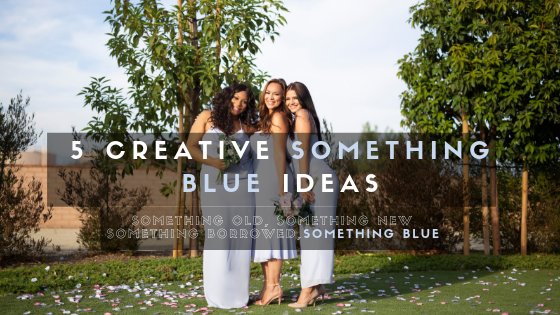 "5 Creative ""Something Blue"" Ideas"