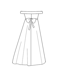 add sash - portrait neckline