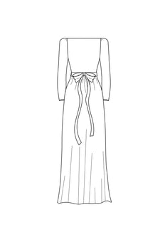 add sash - boatneck neckline