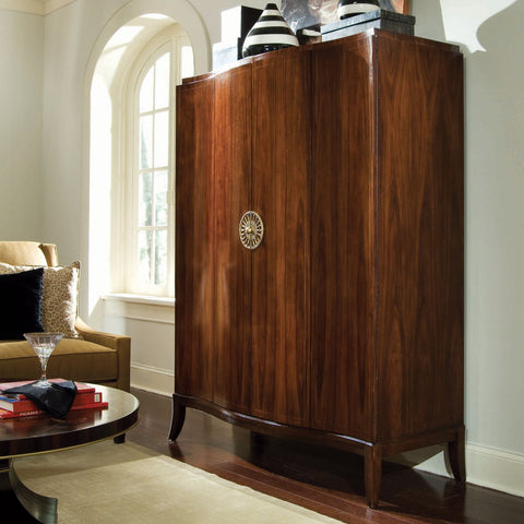 Bob Mackie Home Signature Serpentine Armoire