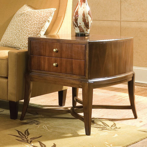 Bob Mackie Home Signature Rectangle End Table