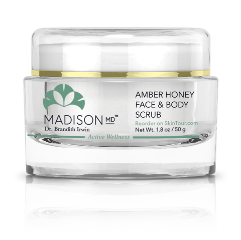 Amber Honey Face & Body Scrub