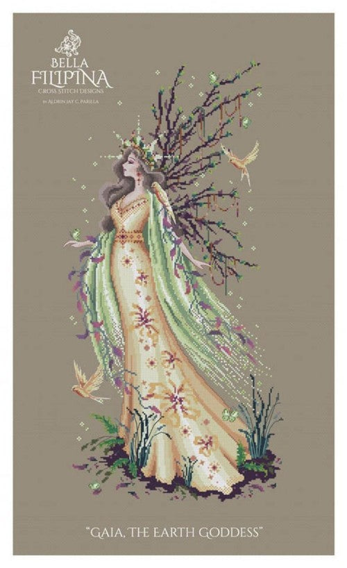 Gaia, The Earth Goddess - BeStitchMe