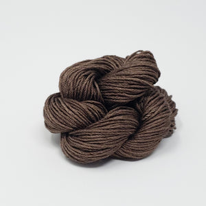 Black Walnut Hand Dyed Silk