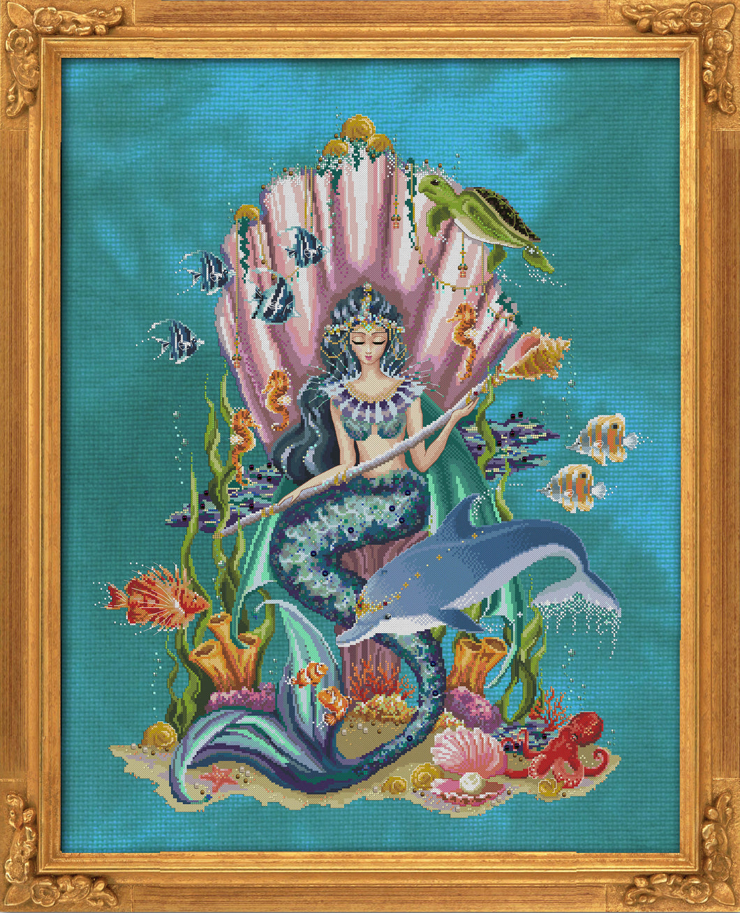 Amphitrite, Queen Goddess of the Sea