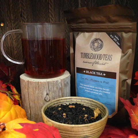 Oh My... Pumpkin Pie! Black loose leaf tea