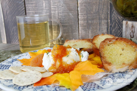 Apricot Oolong Cheese Dip