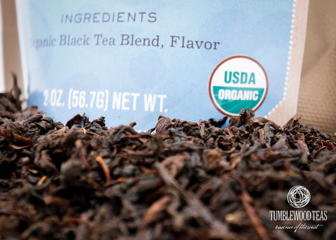 Earlie Grey Dawn organic black tea